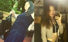 Tuyệt chiêu giảm 50kg để hóa hotgirl của cô nàng 1 tạ