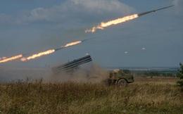 """Xem pháo binh Nga tập trận """"long trời, lở đất"""" Orenburg"""