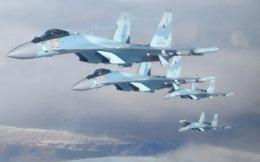 Su-35S hóa giải tình hình nóng ở Hama