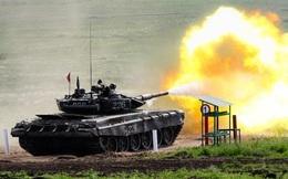 Xe tăng Nga đỏ lửa cho vòng loại Tank Biathlon 2017