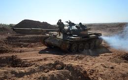 Xe tăng Liên Xô tham chiến tại Syria