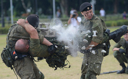 Cận cảnh màn trình diễn cực kỳ ấn tượng của thủy quân lục chiến Nga