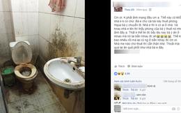 Khách trọ nữ ở bẩn nhất Vịnh Bắc Bộ: ra đi bỏ lại sau lưng nhà tắm mốc meo, đen kịt