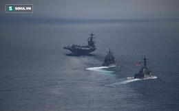 """Triều Tiên tuyên bố sẽ nhấn chìm tàu sân bay hạt nhân Mỹ """"bằng một đòn duy nhất"""""""