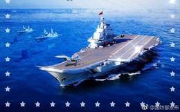Tàu Mỹ, máy bay Nga bị ghép nhầm vào poster hải quân Trung Quốc