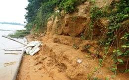 Huế: Dân hoang mang vì hàng đêm đất lở xuống sông Bồ ầm ầm