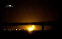 """Al Jazeera: """"Máy bay Israel"""" tấn công căn cứ không quân của Syria"""