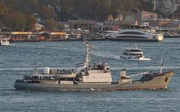 Đâm tàu hàng, tàu trinh sát Nga chìm ở biển Đen