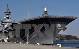 Nhật Bản điều tàu lớn nhất hộ tống chiến hạm Mỹ ở Thái Bình Dương