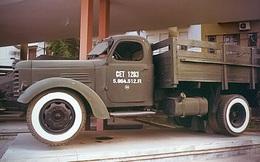 Xe vận tải đầu tiên đưa Quân giải phóng tiến vào Dinh Độc Lập