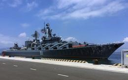 Tuần dương hạm VARYAG lớn và hiện đại nhất của Nga kết thúc chuyến thăm Việt Nam
