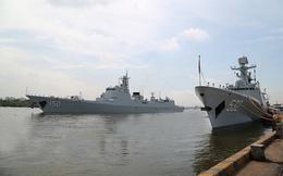 Tàu Hải quân Quân Giải phóng nhân dân Trung Quốc cập cảng Quốc tế TP.Hồ Chí Minh