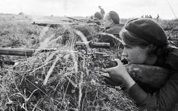 Hình ảnh ấn tượng về nữ quân nhân Liên Xô trong Chiến tranh Vệ quốc