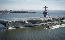 Tổng thống Trump nổi giận về công nghệ của siêu tàu sân bay USS Gerald Ford