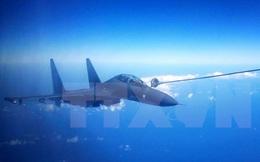 Hai máy bay chiến đấu Trung Quốc chặn máy bay Mỹ ở Hoàng Hải