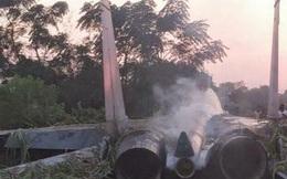 Tiêm kích đa năng Su-30MKI Ấn Độ rơi gần biên giới Trung Quốc