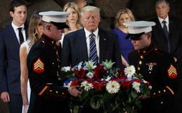 Khác biệt to lớn giữa Trump và Obama qua lưu bút để lại ở Israel