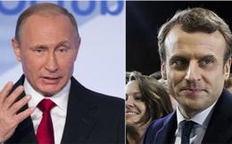 """Tổng thống Pháp lần đầu 'thử lửa'"""" với ông Putin"""