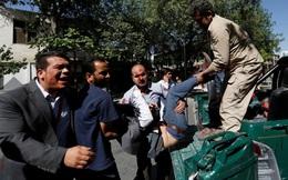 Afghanistan: Hiện trường đánh bom đẫm máu ở khu đoàn ngoại giao, hơn 400 người thương vong