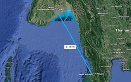 Phát hiện mảnh vỡ của máy bay quân sự Myanmar chở hơn 100 người mất tích trên biển