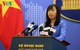 Việt Nam cho rằng Trung Quốc nên hành động có trách nhiệm ở Biển Đông
