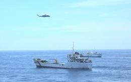 Báo Nhật đưa tin Việt-Nhật lần đầu phối hợp diễn tập trên Biển Đông