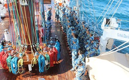 Tàu buồm 286 - Lê Quý Đôn hoàn thành tốt đợt huấn luyện đường dài