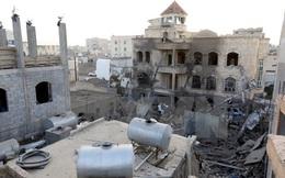 Israel không kích đáp trả các vật thể được bắn đi từ Syria
