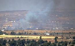 Israel tấn công vị trí của quân đội Syria tại Cao nguyên Golan