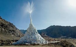 """Khám phá bí mật """"kim tự tháp băng"""" kỳ lạ trên sa mạc cao nhất thế giới"""