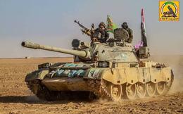 Xe tăng Trung Quốc nghênh chiến T-72 gần biên giới Syria-Iraq