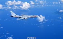 """Trung Quốc tập trận với máy bay chiến lược, khuyên Nhật Bản """"nên quen dần"""""""