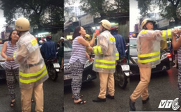 Nữ tài xế thóa mạ, đe doạ CSGT: Chị ta hung hãn quá không ai dám can ngăn