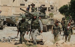Quân đội Syria tiến đánh dữ dội phe thánh chiến ven Damascus