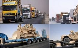 Thiết bị quân sự Mỹ đổ dồn về thành phố Raqqa