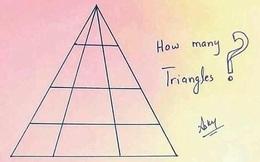 Chỉ là bài toán tam giác cho học sinh cấp 1 nhưng hiếm người lớn nào trả lời đúng!