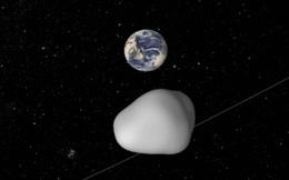 Một tiểu hành tinh sẽ bay ngang gần Trái Đất vào tháng 10