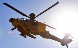 Rơi trực thăng quân sự Apache, một phi công Israel thiệt mạng