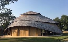 Giải mã ngôi nhà tre độc đáo hình nón lá, chống được động đất ở Thái Lan