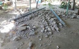 Ngã cột bê tông ở khu du lịch làm 2 người thương vong