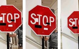 Xe tự lái chưa thể là phương tiện di chuyển an toàn khi có thể bị đánh lừa bởi vài tấm nhãn dán