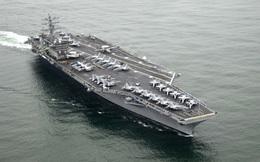UAV của quân đội Iran tiến sát tàu sân bay Mỹ