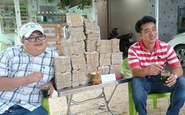 Đặt lư hương, chuẩn bị hàng chục kg tiền lẻ mệnh giá 200, 500 đồng mua vé BOT Cai Lậy