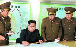 Bí mật bất ngờ trong tấm bản đồ sau lưng nhà lãnh đạo Triều Tiên Kim Jong Un