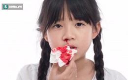Chảy máu cam vẫn thường xảy ra, nhưng nếu là 1 trong 8 trường hợp sau cần đi khám ngay