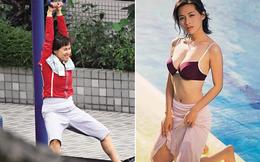 """""""Nữ thần gợi cảm"""" của Hong Kong lộ gương mặt lão hóa, thân hình kém thon thả"""