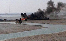 Chuyện phi công không quân Trung Quốc tử nạn khi bay tập