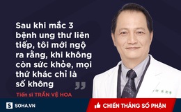 5 chiến lược phòng chống ung thư của vị tiến sĩ nổi tiếng 3 lần mắc ung thư vẫn sống sót!