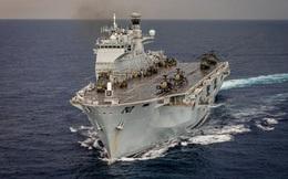 Tàu chiến Anh đến ứng phó với bão Irma phải đi mất… 2 tuần