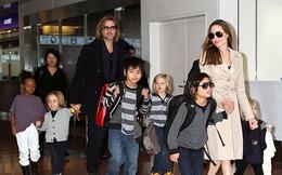 """Phải chăng Angelina Jolie đá đểu Brad Pitt khi nói: """"Chưa ai từng sát cánh bên tôi như các con""""?"""